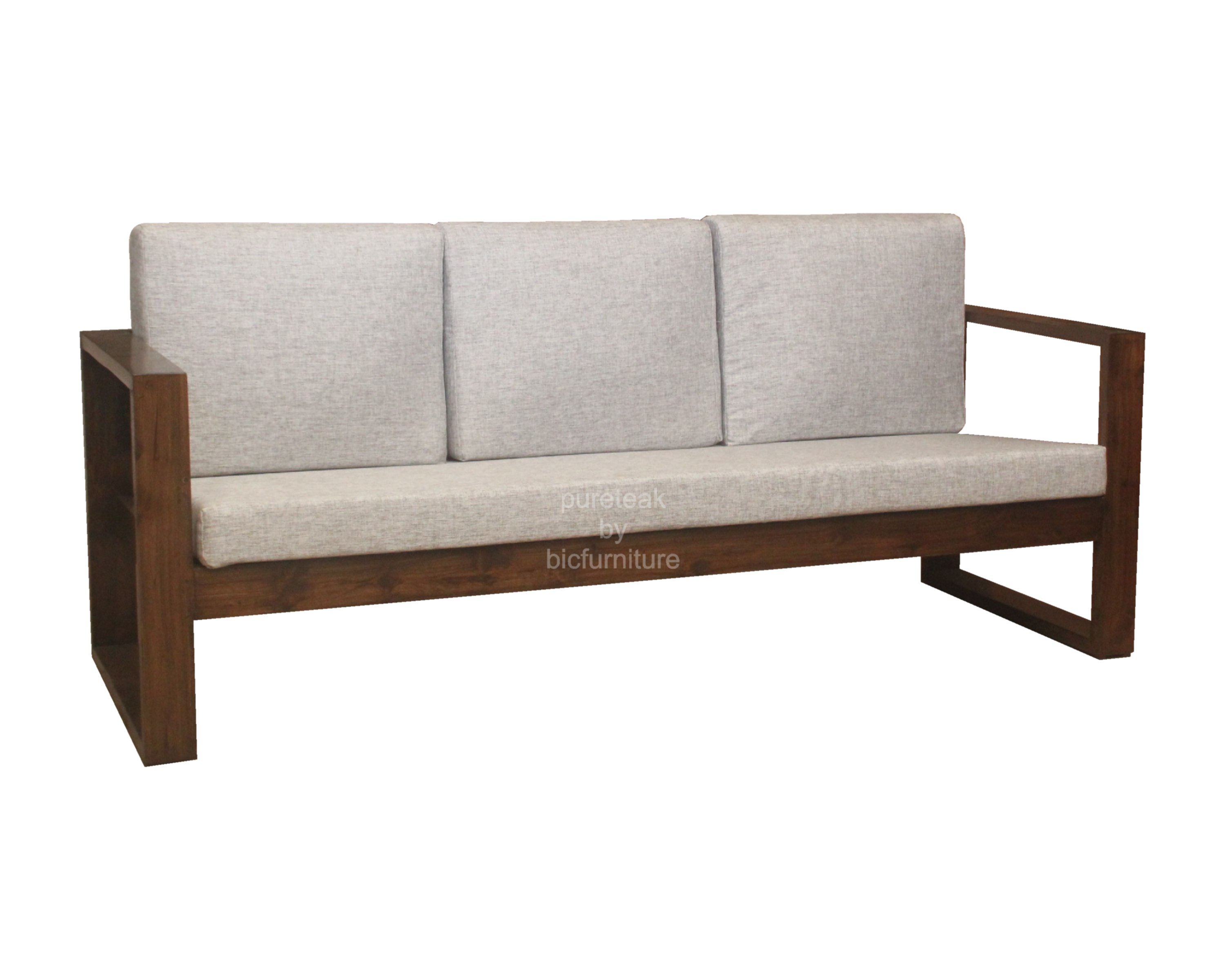Wooden Sofa Set In Simple Design Ws 67