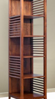 Dili Curly Bookcase   solidteakwoodfurniture.com