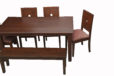 Teakwood_Dining_Table_With_Cushion_Chair (2)