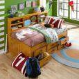 Teakwood_Single_Drawer_Bed