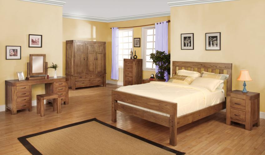 oakwood bedroom set (obs 67) details | bic furniture india