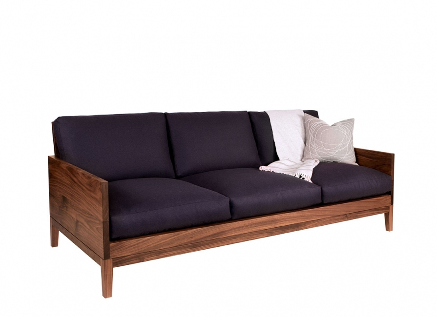 Ws 85 Wooden 3 Seater Block Design Sofa Details Bic Furniture India