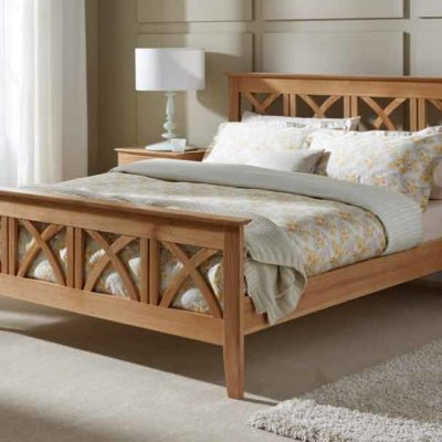 BED 67 STYLISH WOODEN DESIGN BED