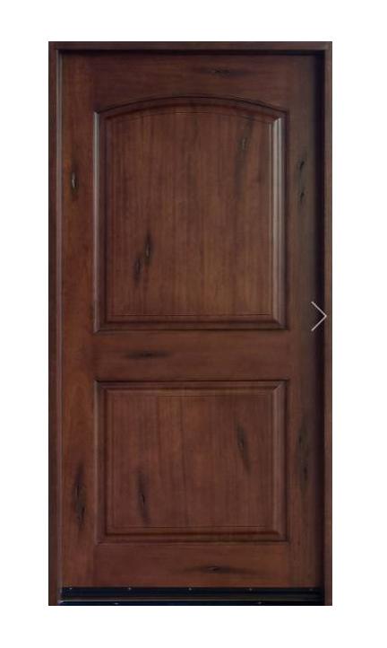 Door 17 Strong Solid Design Teakwood Door In Panel Design