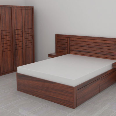 Buy Wooden Bedroom Sets in Mumbai | Bedroom Furniture from ...