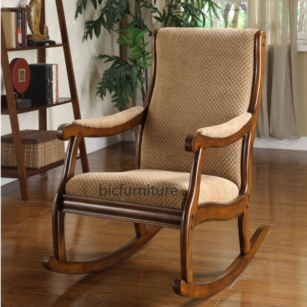 Well-liked Comfortable Rocking chair with cushion by BIC Mumbai TK05