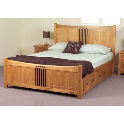 Teak Wood King Size Bed Jonathan Steele