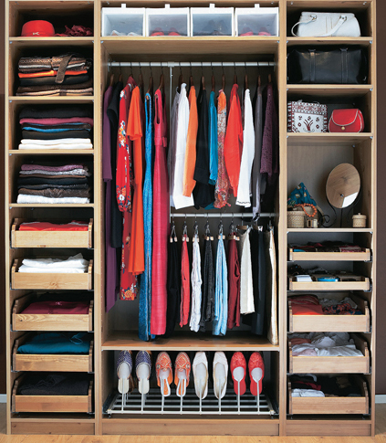 Internal Wardrobe Designs Archives Wooden Furniture in Teak wood