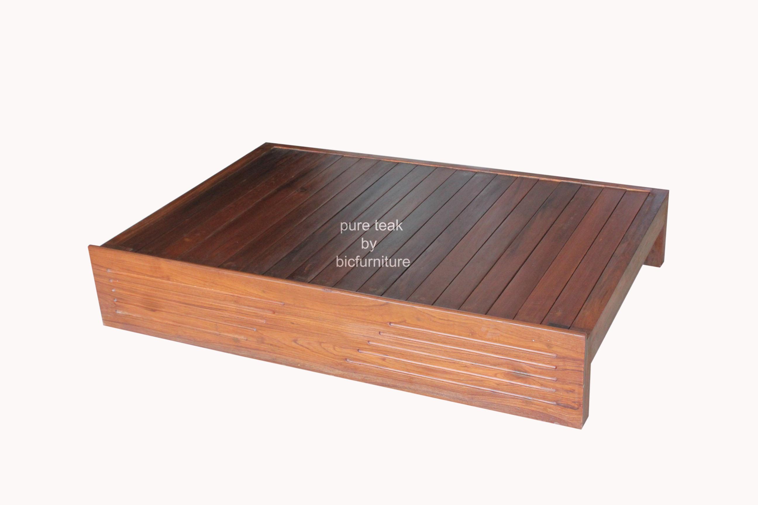 pact Sofa cum bed in Teak Wood SFB 09 Details