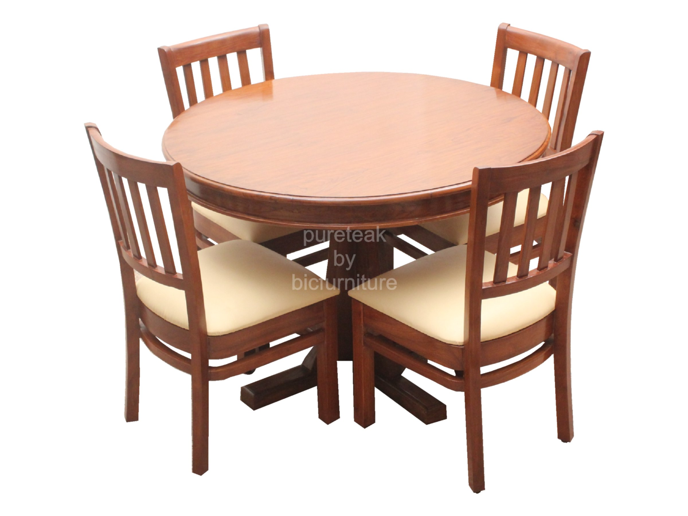 Twd 13 Round 4 Seater Dining Set