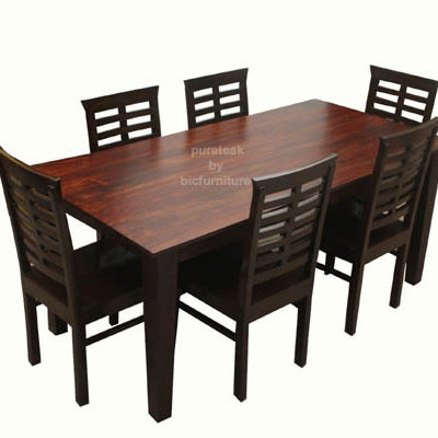 beautiful 6 seater dining table sets made in solid wood 6 Seater Dining Table