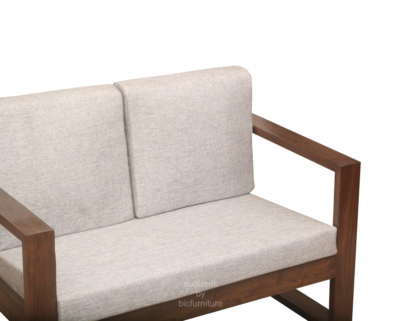 Wooden Sofa Set In Simple Design WS 67 Details